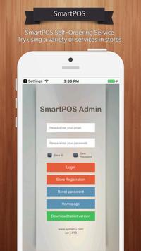 SmartPOS Smartphone - Self Ordering poster