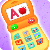 Baby Phone with Animals icon