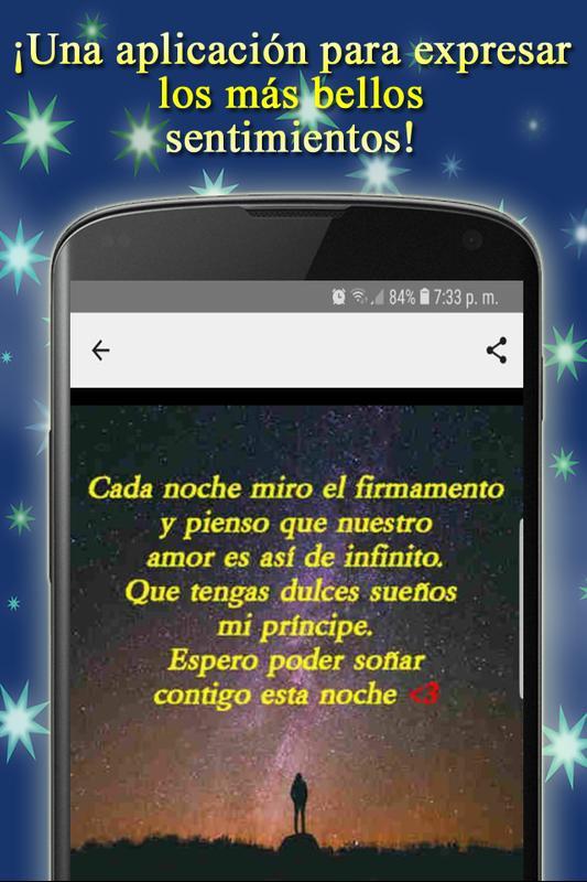 Frases Bonitas Con Imagenes De Buenas Noches Amor For Android Apk