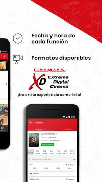 Cinemark Colombia screenshot 1