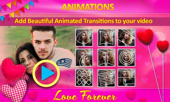 Love Video Maker with Music screenshot 15