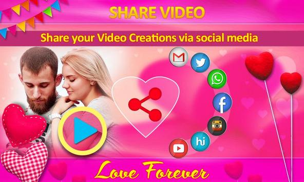 Love Video Maker with Music screenshot 12