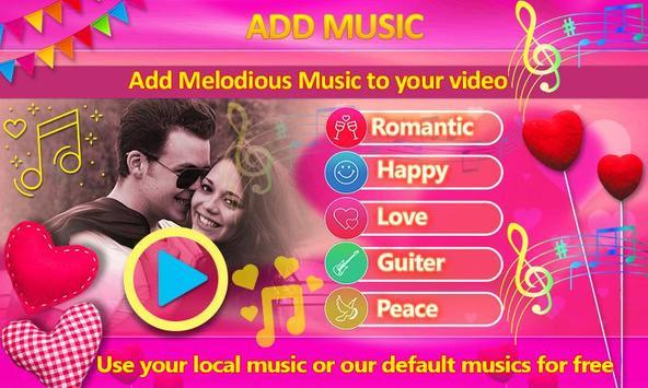 Love Video Maker with Music screenshot 3