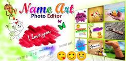 Name Art Photo Editor - Focus n Filters