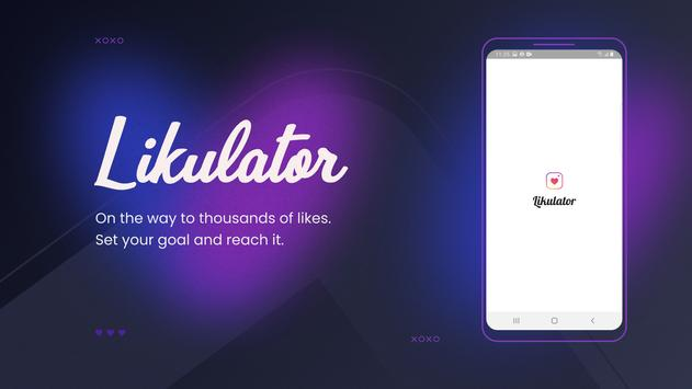 Likulator - Followers & Likes Analyzer 2021 الملصق