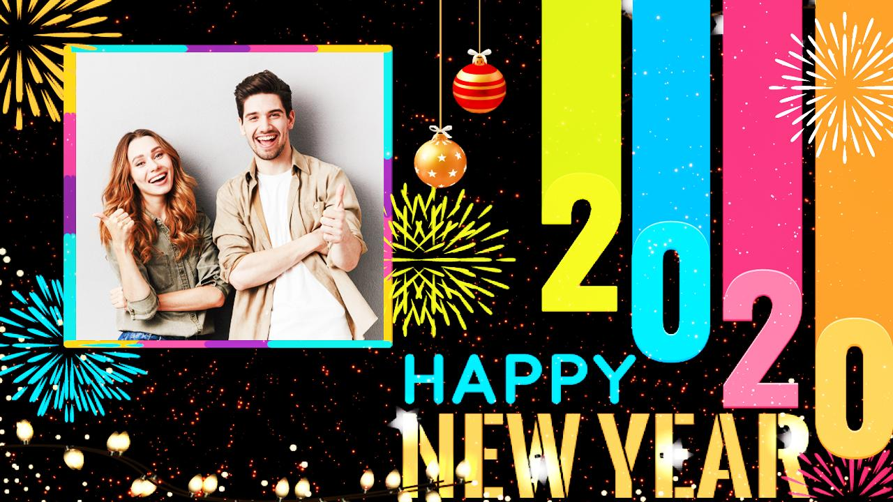 Happy New Year Photo Frame 2020 Photo Editor For Android