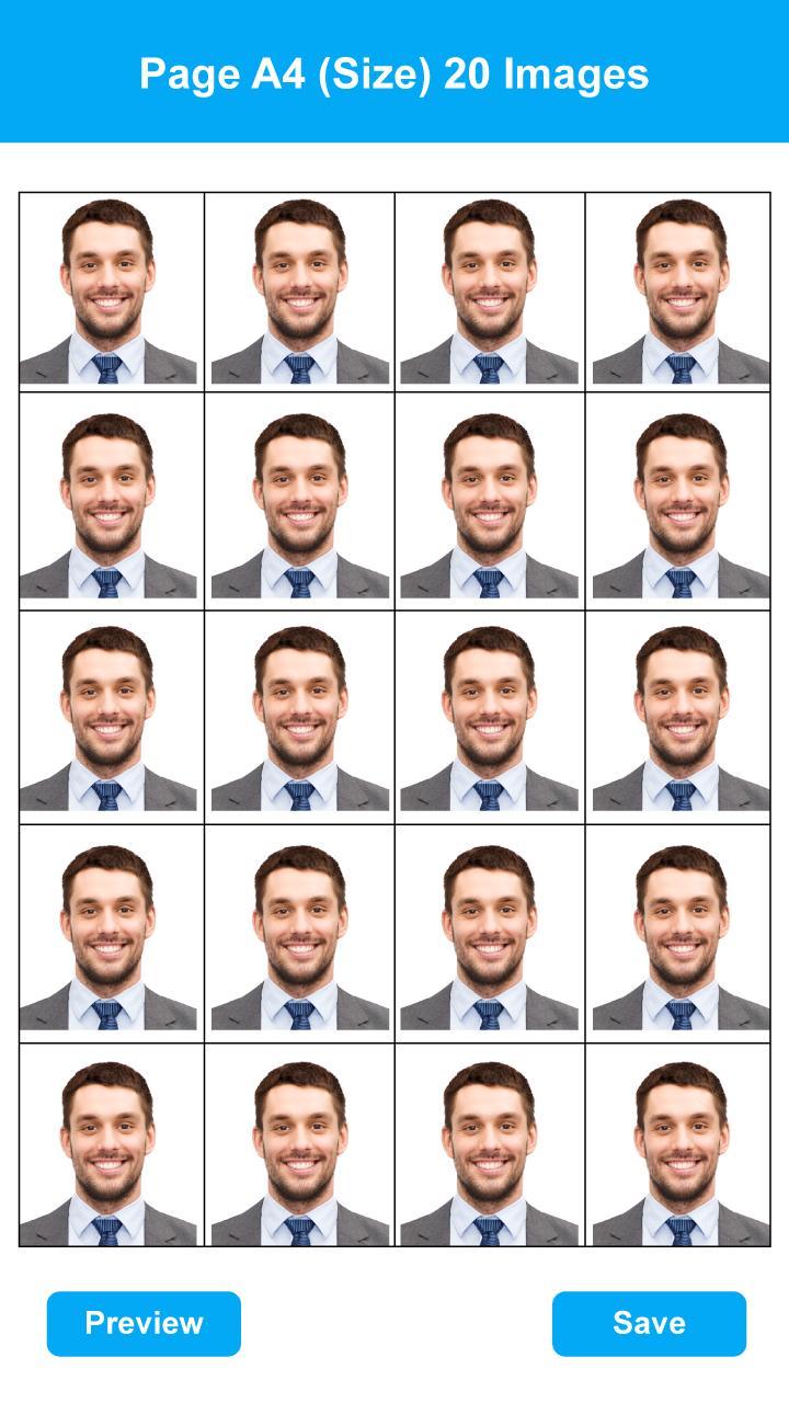 passport size photo making software free download