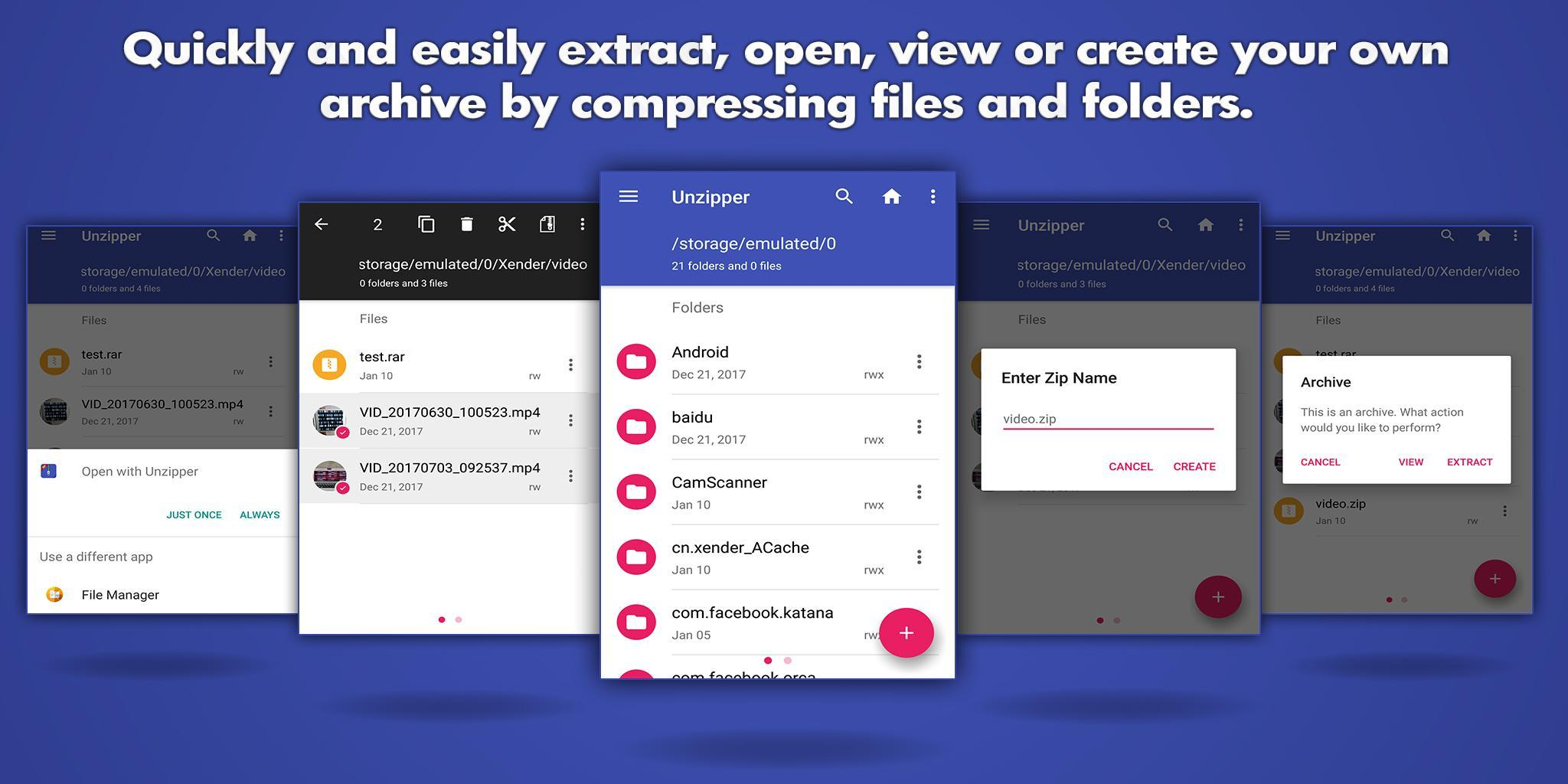 Easy Zip Unzip File Manager for Android - APK Download