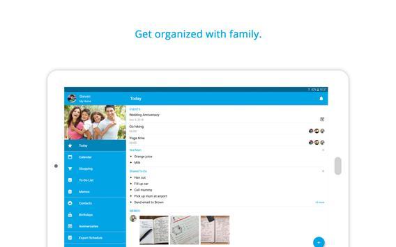 Family Shared Calendar: FamCal Ekran Görüntüsü 11
