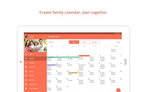 Family Shared Calendar: FamCal Ekran Görüntüsü 12
