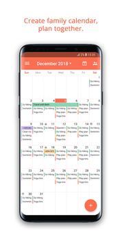 Family Shared Calendar: FamCal Ekran Görüntüsü 1