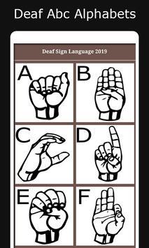 Deaf Sign Language 2019 screenshot 3