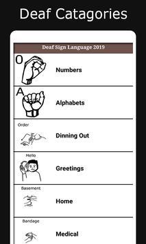 Deaf Sign Language 2019 screenshot 1