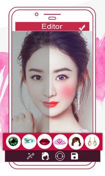 Makeup Face Beauty Editor - Beautify face poster