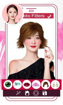 Makeup Face Beauty Editor - Beautify face screenshot 2