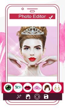 Makeup Face Beauty Editor - Beautify face screenshot 3