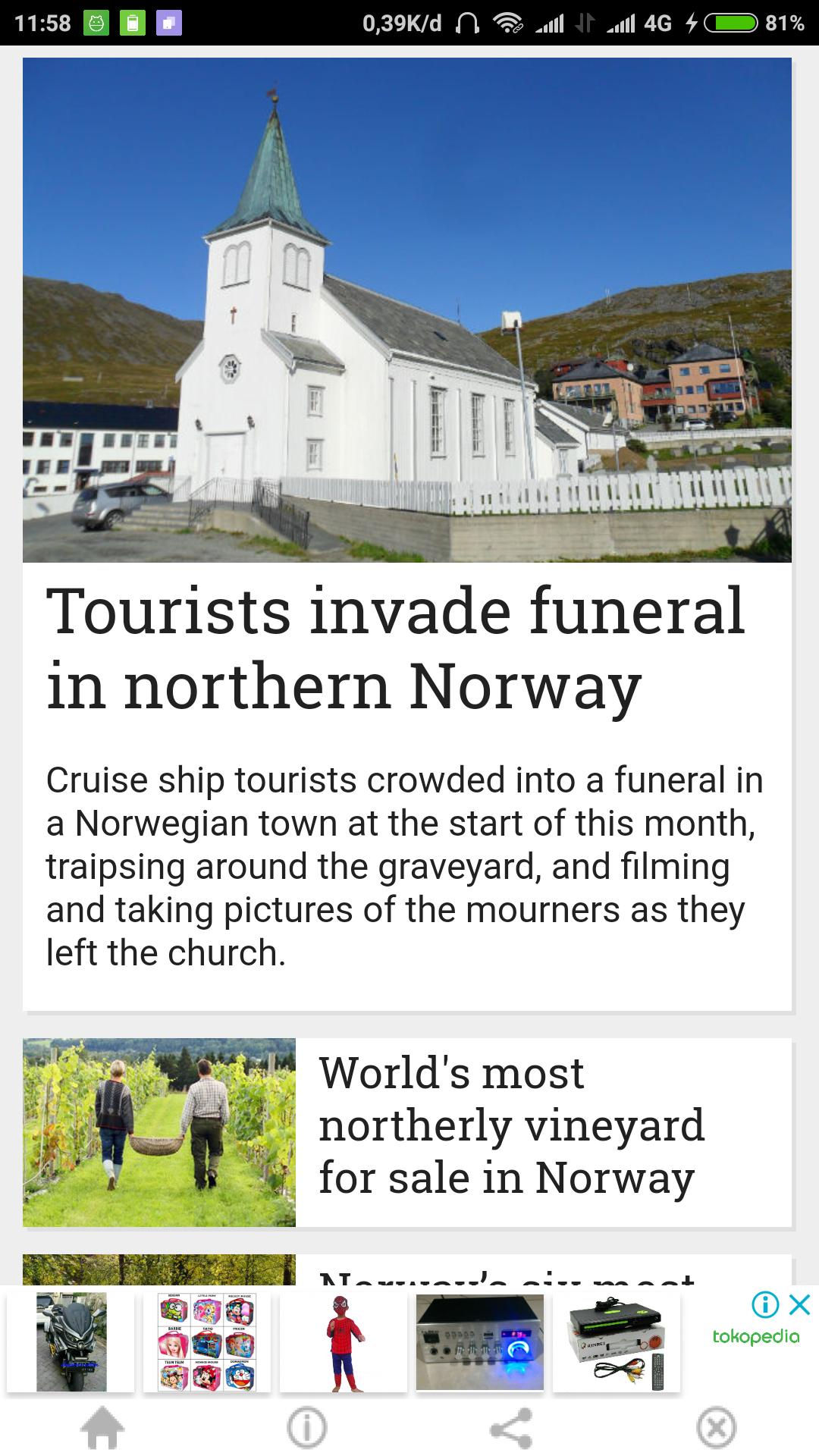 The Local no - Norway's News poster