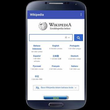 Wikipedia Mobile screenshot 7