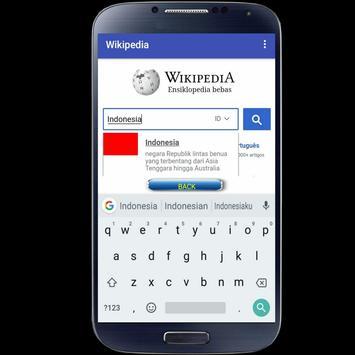 Wikipedia Mobile screenshot 1