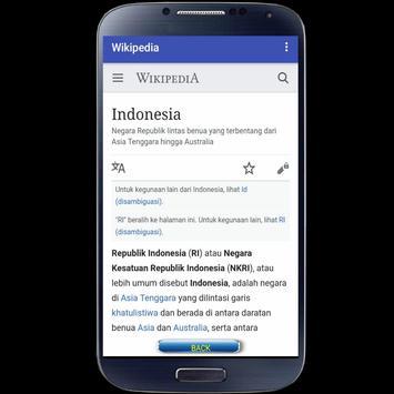 Wikipedia Mobile screenshot 2