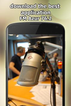 Radio FM Azur 76.2 Free Online in Japan screenshot 5