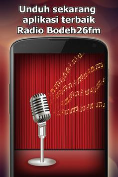 Radio Bodeh26fm Online Gratis di Indonesia screenshot 10
