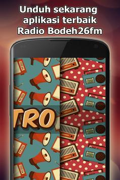Radio Bodeh26fm Online Gratis di Indonesia screenshot 1