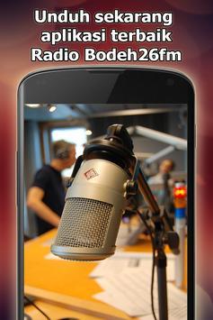Radio Bodeh26fm Online Gratis di Indonesia screenshot 23