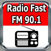 Radio Fast FM 90.1  Online Gratis di Indonesia icon
