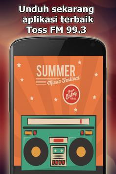 Radio Toss FM 99.3 Online Gratis di Indonesia screenshot 11