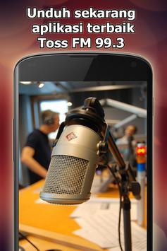 Radio Toss FM 99.3 Online Gratis di Indonesia screenshot 4