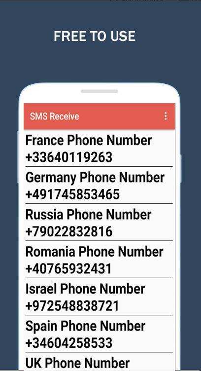 RECEIVE SMS FREE for Android - APK Download