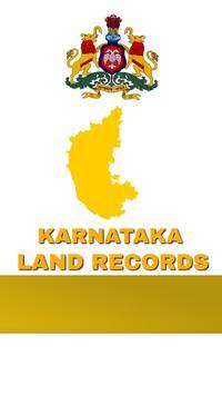 Karnataka Land Records poster