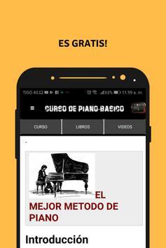 aprender a tocar piano (curso de piano basico) poster