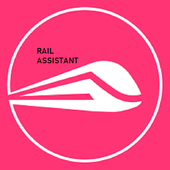 Rail assistant - check all rail services at Once. icon