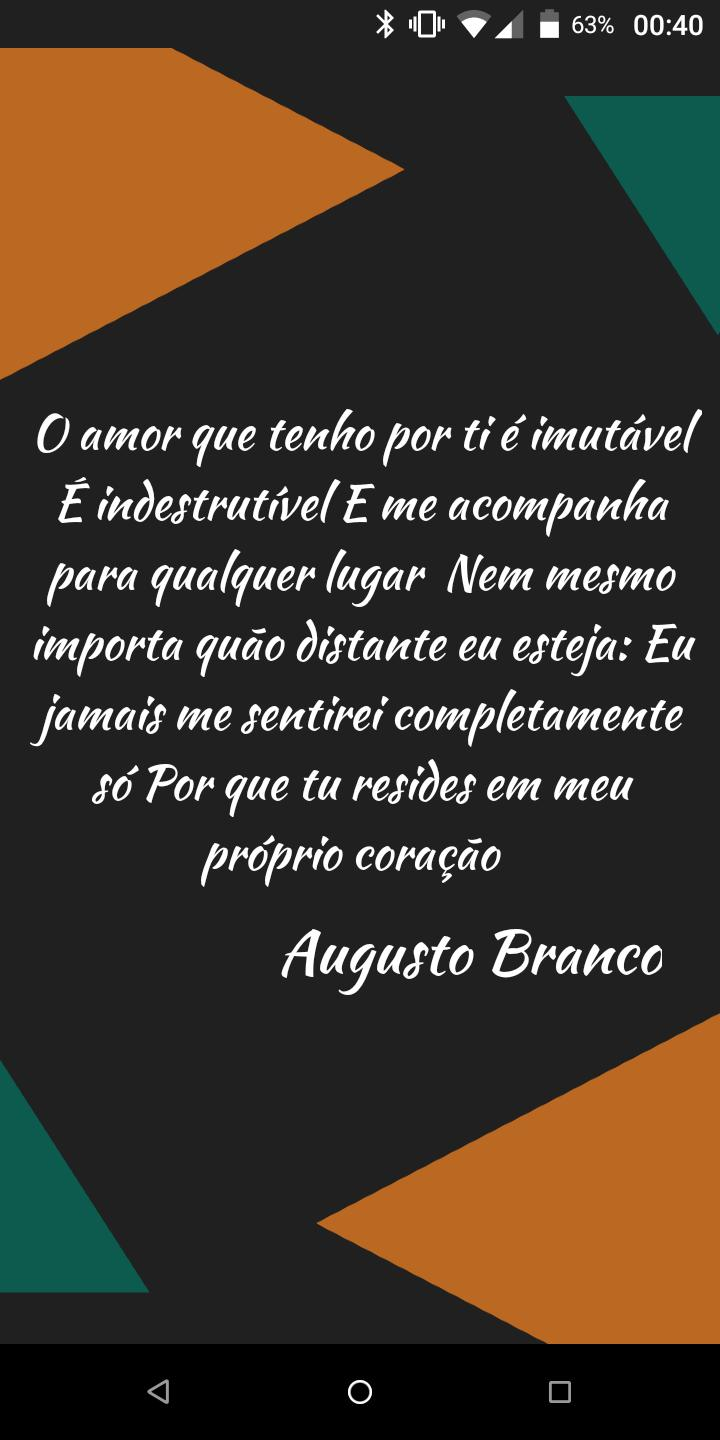 Frases De Augusto Branco For Android Apk Download