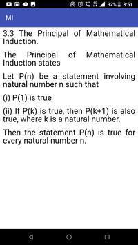 Mathematical Induction screenshot 2