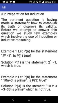 Mathematical Induction screenshot 3