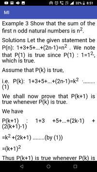 Mathematical Induction screenshot 4