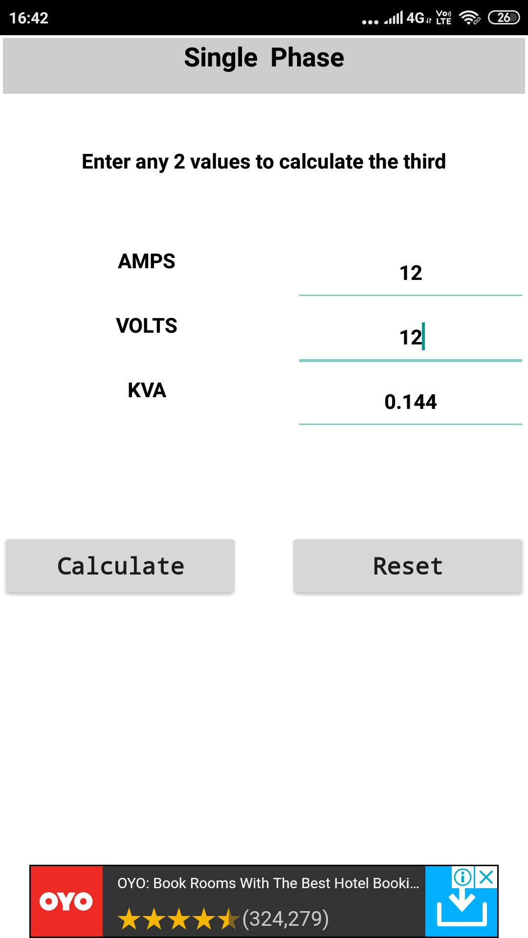 KVA/Hp/Kw Calculator and Converter for Android - APK Download