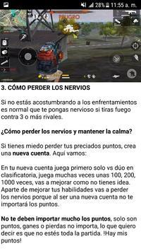 Free Fire: Guía del Heroico screenshot 1