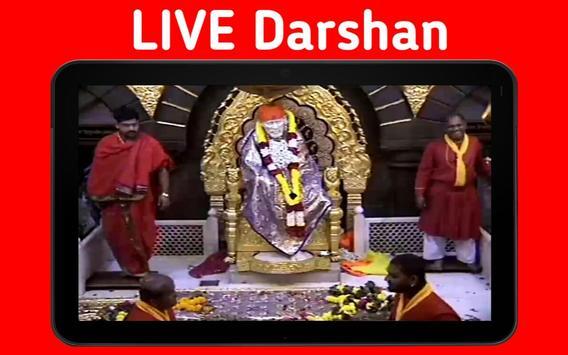 Sai Baba Shirdi Live Darshan (Free) screenshot 23