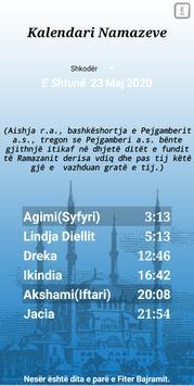 Kalendari Namazeve screenshot 3