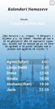 Kalendari Namazeve screenshot 2