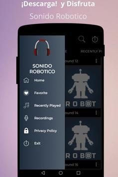 Robotic sound poster