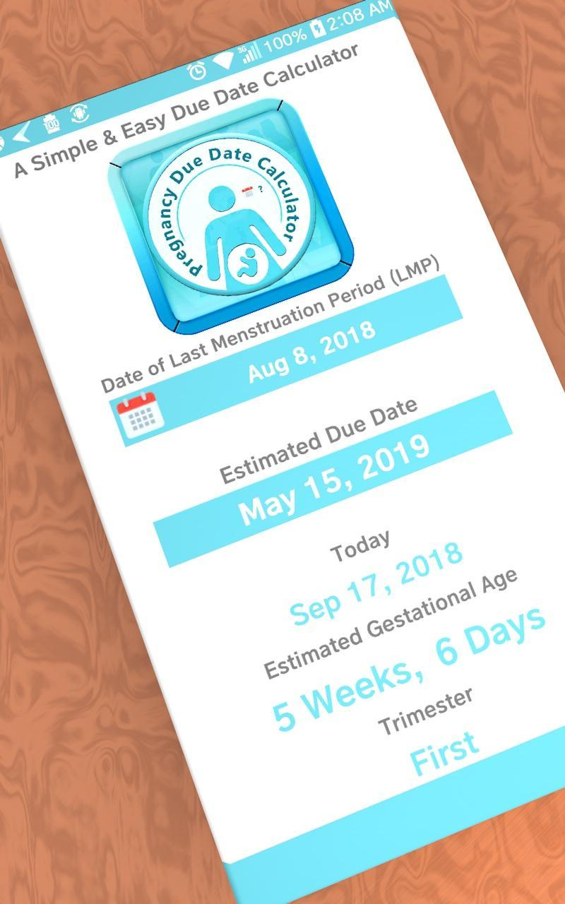 Pregnancy Due Date Calculator by KT Apps Store for Android