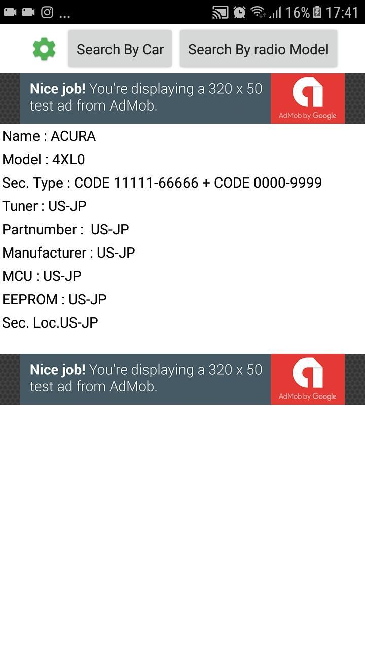 Car Radio Codes for Android - APK Download