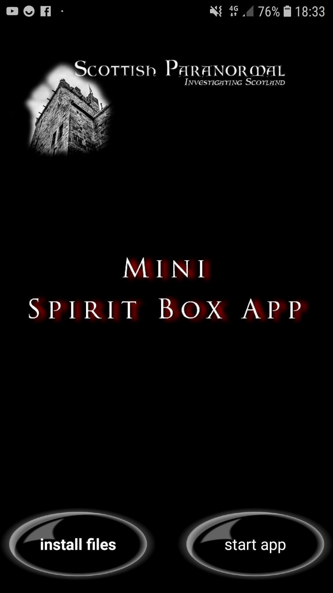 SP Mini Spirit Box App for Android - APK Download
