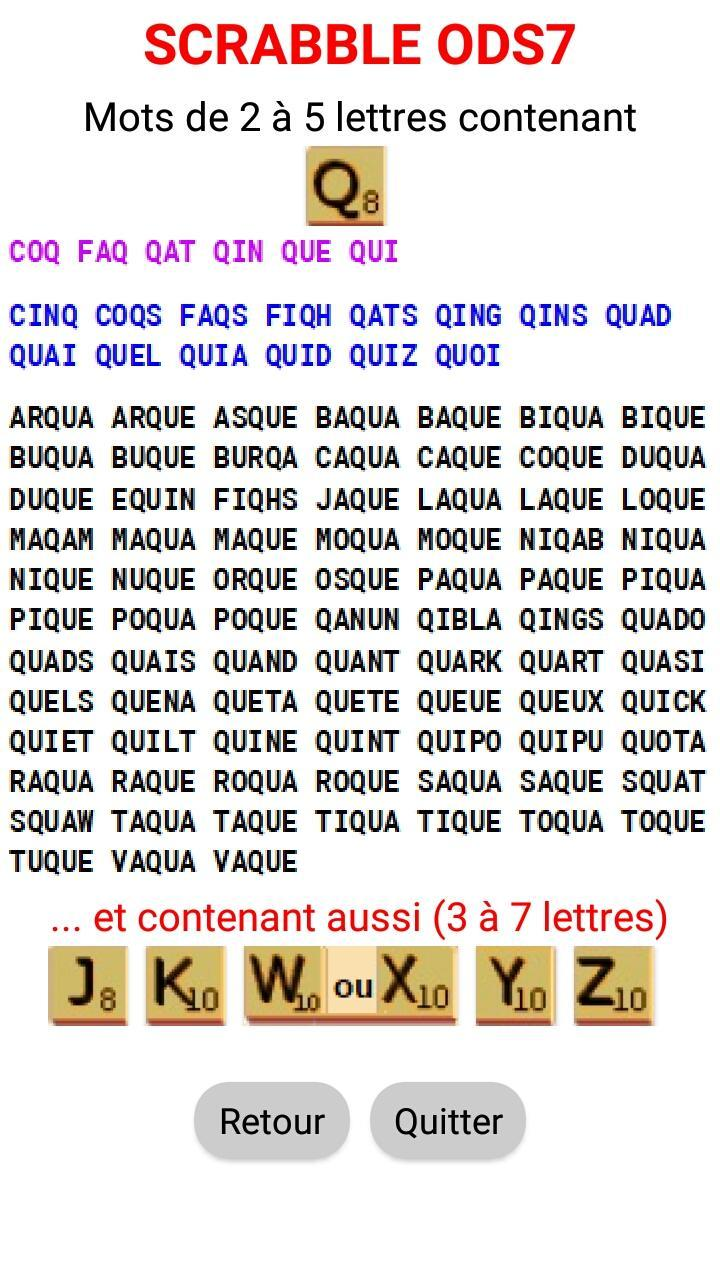 Mots Scrabble Lettres Cheres For Android Apk Download