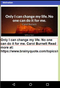 QuotesDaily - Quotations by famous authors screenshot 2